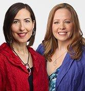 Ahlea Khadro and Heather Dane